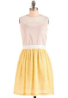 Lauren Moffatt Sprinkling of Summertime Dress, #ModCloth