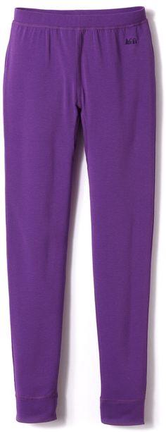 Rei Female Midweight Long Underwear Print Bottoms - Girls'