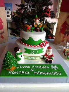 #cake#noel#christmascake#cakeart