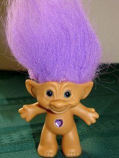 4 99 Treasure Troll Dolls Shades Of Purple 50 Childhood Toys