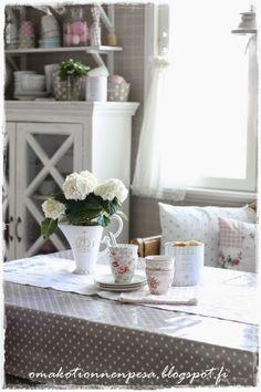 Oma koti onnenpesä: Astiat nuo ihanat ja upea Greengate arvonta