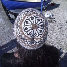 Shwook Hat, designed for Shetland Wool Week 2014