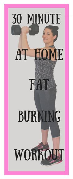 The best 30 minute fat burning workout!
