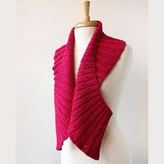 51 Fiber art scarf - original design