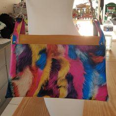 joh.mills Mon nouveau sac à main Patron #chachacha @patrons_sacotin #sacotin Tissus et mercerie de chez #sosmachinesacoudre