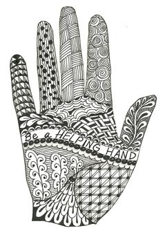 Designs for Zentangles | This is a new Zentangle design I made to add to my altered book. I ...