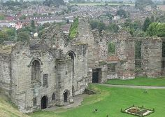 Tutbury Castle, Staffordshire, is believed to be haunted by a number of ghostly characters. There is the ghost of a soldier seen wandering the parapets and also the ghost of the white lady who appears in the window of the Tower. The most significant activity is thought to be in what is described as the King's bedroom where people were feeling overcome and fainting even in daylight. There have also been many sightings of the ghost of Mary Queen of Scots.