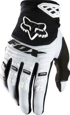 Fox Head Men's Dirtpaw Race Glove, White, Large - http://ridingjerseys.com/fox-head-mens-dirtpaw-race-glove-white-large/