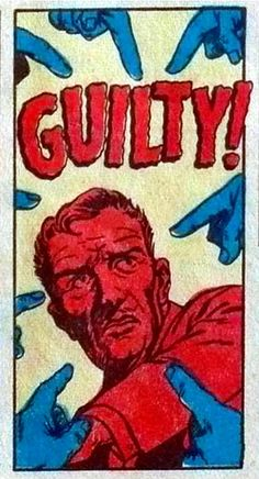 Guilty! #comics #words #fumetto - Carefully selected by GORGONIA www.gorgonia.it