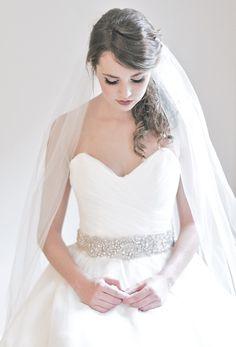 hello beautiful sash by @Robin Headley ATELIER ~ wish I'd worn a sash at my wedding, to break up my wedding dress a bit!