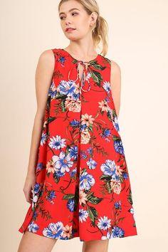 ELENA Floral Print Dress