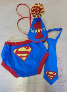 Personalized baby boy smash the cake outfit/ photo by SMPstore