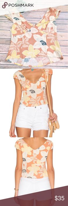 "Free people into the groove top NWT Never worn, NWT. ""Into the groove top in peach"" from Free People. Side zipper. Size 12. The Tag's print partially came off otherwise it's great brand new top. (The price is reflected). Peach color. Free People Tops Tank Tops"