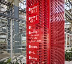 Directional sign at Sustainable Industries Education Centre (SIEC), Adelaide, Australia by Parallax