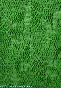 Ридж плитка - Knittingfool стежка Подробности