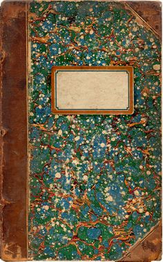 1870 Book Cover & Label by Cathe Holden JustSomethingIMade.com