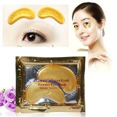 New Hot Crystal Gold Collagen Eye Gel Mask for Dark Circles Bags Wrinkles