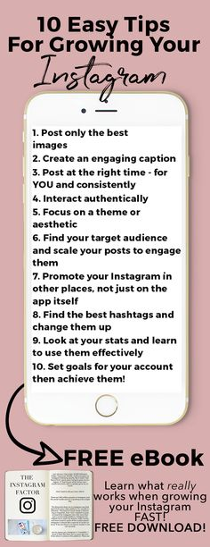 10 Tips for Growing Your Instagram. Learn how I tripled my Instagram following. With the right strategies, you can grow your Instagram following strategically and gain an engaged following that interacts with your account, follows your calls to action, and helps you succeed! I use my Instagram account to be a full time blogger and I want to know you how.
