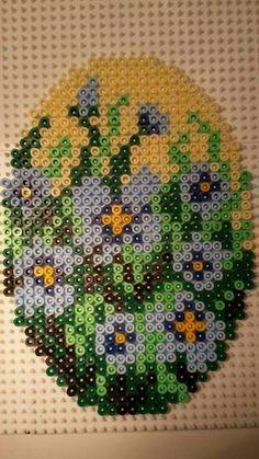 Perler Bead Easter Egg Pattern