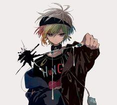 Rune or Zero Anime Oc, Yandere Anime, Otaku Anime, Anime Chibi, Manga Anime, Cute Anime Pics, Cute Anime Boy, Anime Art Girl, Manga Art