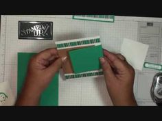 Double Flap Card with Dawn - YouTube
