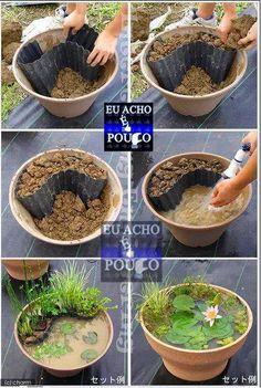 Oltre 1000 idee su laghetti da giardino su pinterest for Laghetti da giardino in plastica