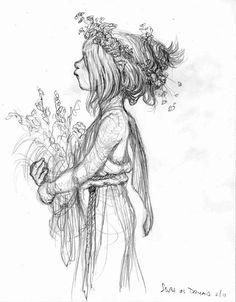 Tony DiTerlizzi Sketch