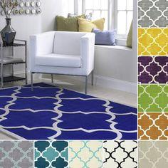 nuLOOM Handmade Luna Moroccan Trellis Rug (5' x 8')   Overstock.com Shopping - Great Deals on Nuloom 5x8 - 6x9 Rugs