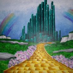 Mural Of Yellow Brick Road By Donna Griffenkranz Part 8