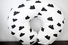 Little Woolf™ Boppy® Cover in WhiteBlack Cloud by littlewoolf