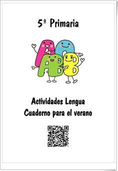 328 best lengua tercer ciclo images on pinterest spanish grammar cuaderno para el verano del rea de lengua espaola para 5 nivel de educacin fandeluxe Choice Image