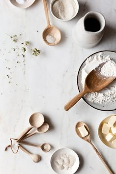baking / wooden spoons / styling ideas