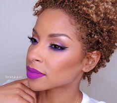 Kat Von D Everlasting Liquid Lipstick in L.U.V. | 21 Bright Lip Colors That Look Amazing On Dark Skin Tones
