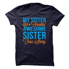 Awesome Sister T-Shirts, Hoodies. CHECK PRICE ==► https://www.sunfrog.com/LifeStyle/Awesome-Sister.html?id=41382