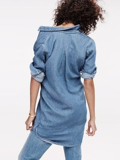 The chambray shirtdress from Madewell