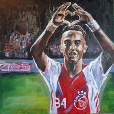 Appie Nouri, nummer 34 - acryl (80×80cm), 2020 My Arts, Painting, Painting Art, Paintings, Painted Canvas, Drawings