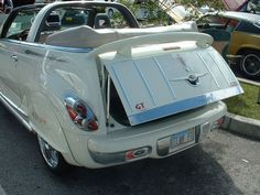 Pt Cruiser Accessories, Convertible, Chrysler Pt Cruiser, Vintage Travel Trailers, Tail Light, Car Detailing, Cadillac, Dream Cars, Lights