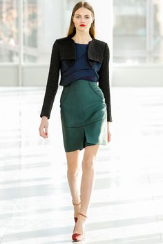 Antonio Berardi Fall 2013 Ready-to-Wear Fashion Show - Manuela Frey