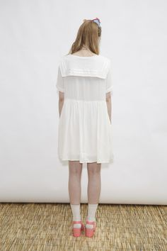 Sailor Dress White - THE WHITEPEPPER http://www.thewhitepepper.com/collections/dresses/products/sailor-dress-white