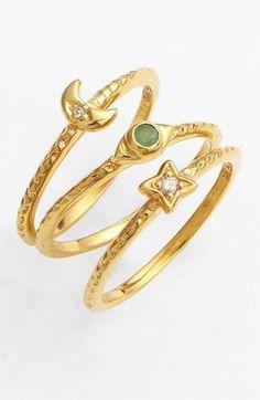 Fancy - Stackable Rings (Set of 3)
