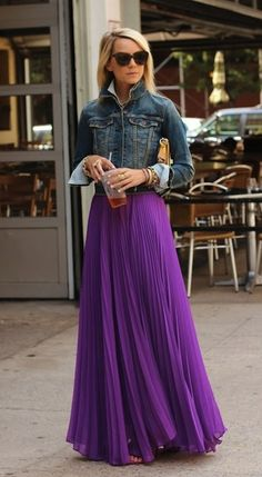 sheer pleated maxi skirt - Google Search