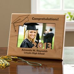 Graduation Day Personalized Cut-Out Frame