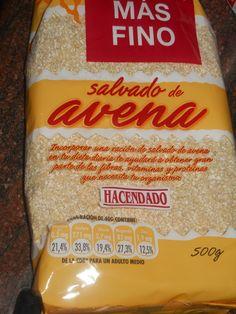 Salvado de Avena Hacendado (Mercadona) - 1 Cd (15 gr) - 1 p