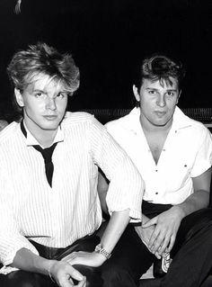 Taylors John and Roger of Duran Duran