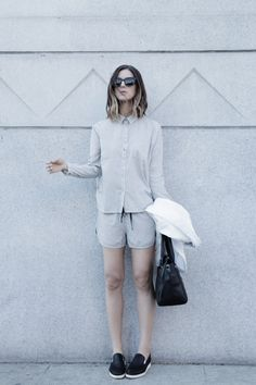 Michelle | Take Aim | black and white outfit