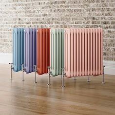 We're getting a new boiler installed (hopefully this week) and adding a radiator into our front entrance porch. I'd been thinking about a tall one but went off the idea as I didn't think it would suit the house... So you can't imagine how excited I was when I found these from @we_are_soak instead!!! How on earth will I choose which colour?! (And convince @_jay_tate_ )