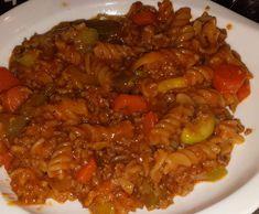 Rezept All-In-One Toskana mit Hack von SarahFlip - Rezept der Kategorie Hauptgerichte mit Fleisch