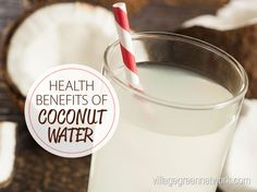 Coconut water is all the rage, and for good reason. The super healthy hydrating water that is better than water! Coconut is incredibly nutritious. It is extremely high in medium-chain fatty acids, such as lauric acid, which is also found in human breast milk and caprylic acid, which is a potent natural antiviral and antifungal.