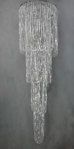 Make a scene party rentals - 24 x 5' chandelier rents for $100