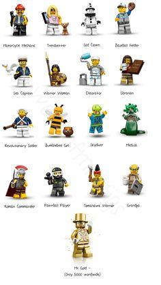 world of minifigs Lego Custom Minifigures, Lego Minifigs, Lego Ninjago, Lego Website, Lego Craft, Lego People, Lego Photography, Lego Group, Lego Design